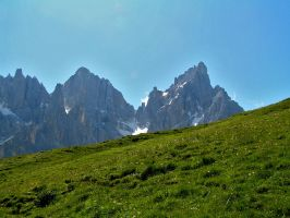 Peaks and meadows by edelweiss26