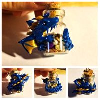 DnD Blue Dragon charm by LittleCLUUs