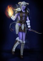 Dunmer Dragonborn From Skyrim by MeLiNaHTheMixed