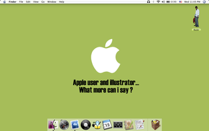 My MacBook ScreenShot by iBader