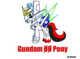 Gundam 00 Pony by Arima23