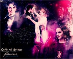Cedric and Hermione by Breeze15-03