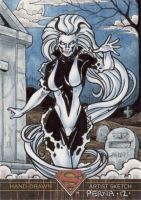 Superman the Legend - Silver Banshee by tonyperna