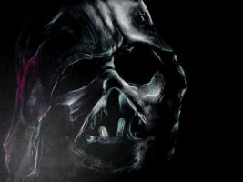 Vader's Funeral Mask by philippeL