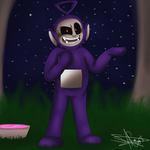 Slendytubbies - Tinky Winky + Speedpaint (REMAKE ) by Drawings-SofiaWolf