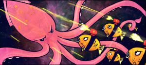 Revenge of the Spacefeesh D: by Yuushoku
