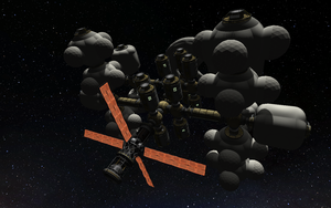 KSP Station Concept 3 Bottom View by Shroomworks