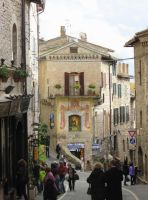 Assisi Street by ShipperTrish