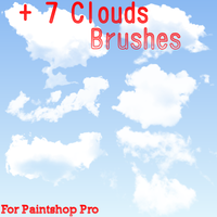 Clouds Brushes Set 2 by UltimeciaFFB