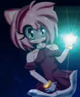 :Amy Rose: by 0N3M0R3T1M3