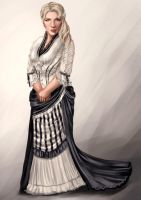 CH: Winter Ball Outfit Design by adelruna