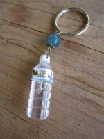 Water Bottle Keychain by PunkTrunk