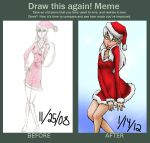 Santa Draw This Again by pandikko