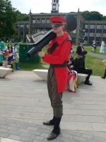 Red Soldier Amecon '12 by KaniKaniza