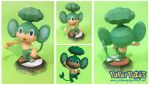 Pansage Papercraft by Lyrin-83