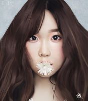 Kim TaeYeon (Digital Painting) by Dagonia