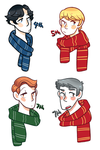 Potterlock Headcanons by favouritefi