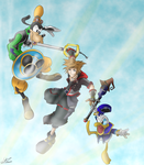 Kingdom Hearts 3 by WillowingTrees