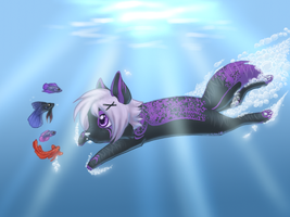 O Look, MANY Feesh by Clouded-3D