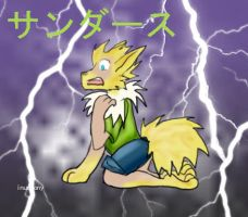 135 Jolteon tf solo by inuebony
