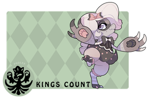 Foolee Kings Count- Silk by SinCommonStitches