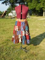 Patchwork skirt by FrockTarts