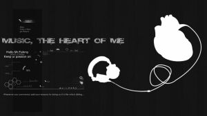 Music The heart of Me by NurFahmy