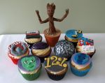 Guardians Of The Galaxy Cupcakes by sparks1992