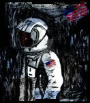 Spaceman. Photoshop 2 by Herbie91