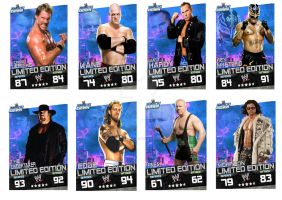 smackdown superstars cards set by Patrick75020