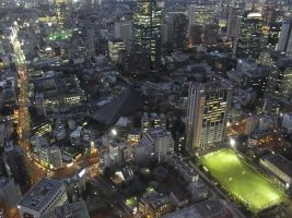 STOCK AIRBORNE IMAGERY JAPAN NO:010030021 by hirolus