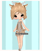 Draw to Adopt closed adoptableluvr WON by XXArekushisuXX