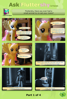 Ask Brushable Fluttershy - Q7 - Mane: Part 1 of 4 by dutchscout