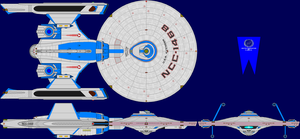 USS Avenger TMP Multi-View by captshade