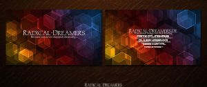 Radical-Dreamers... Business Cards [Final] by TodesBrot