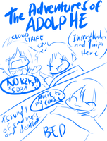 The Adventures of Adolphe 2 by ayrra
