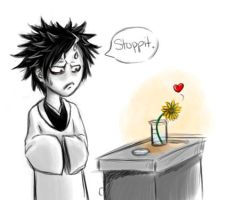 Bleach-Akon and the Flower by JezrielXIII