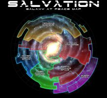 Salvation: Galaxy at Peace Map by EspionageDB7