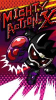 Proto Mighty Action X Phone Wallpaper by raidenzein