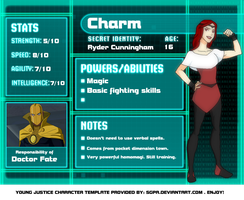 DC: Charm Profile by KorporalKitty