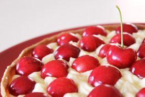 Cherry Tart Detail by Rea-the-squirrel