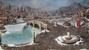 Winter In The Red Roof Town by samaposebe