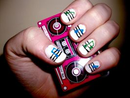 Music Nails by RoxysSlushPuppie