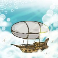 .:Cute Airship:. by Maye1a