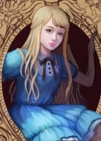 Alice WIP Closeup by Huyen-n00b