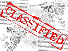 CLASSIFIED: Metal Gear REX by JessahKat