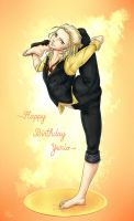 Happy Birthday Yurio by Aldric-Cheylan