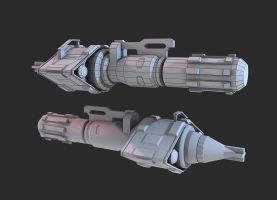 Halo 3 Missile Pod by martynball