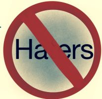 HATERS GO AWAY!!!!!! by Night-time-artist
