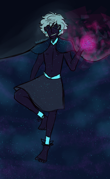 Space Dude by solarseptum